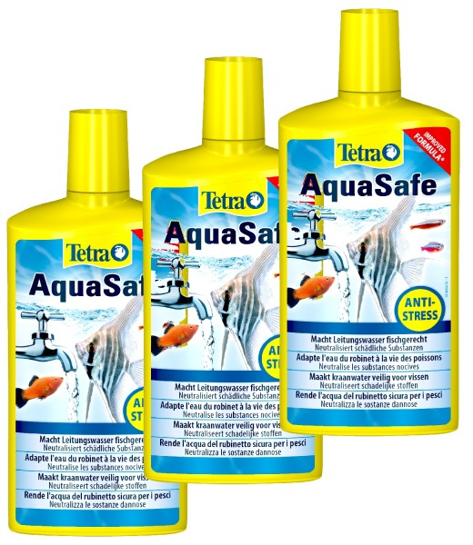 Tetra AquaSafe 3 X 500 ml Dreierpack