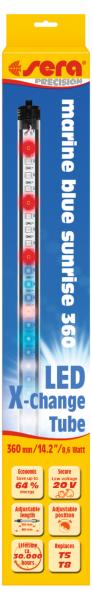 sera LED marin blue sunrise