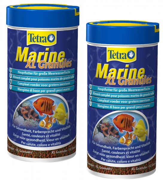 Tetra Marine XL Granules 2 X 250 ml Doppelpack