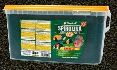 Tropical Spirulina 36% GRANULAT 5 L (3,0kg)