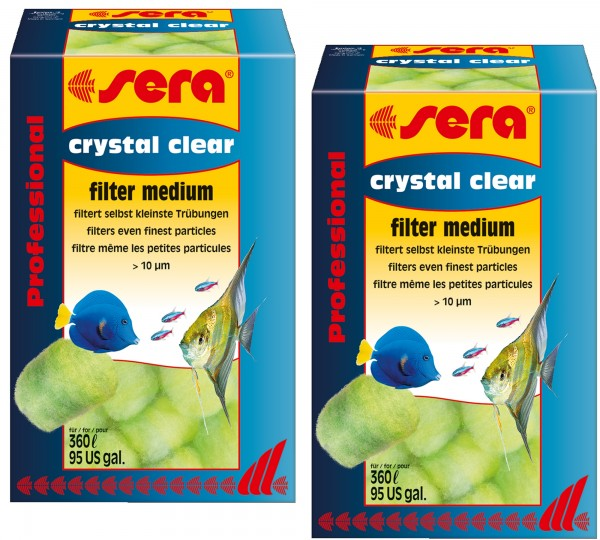 sera crystal clear Professional Doppelpack 2 X 12 St.