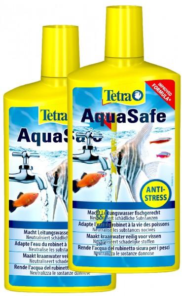 Tetra AquaSafe 2 X 500 ml Doppelpack
