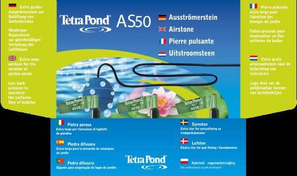 Tetra Pond Ausströmerstein AS 50 + Schlauch grün