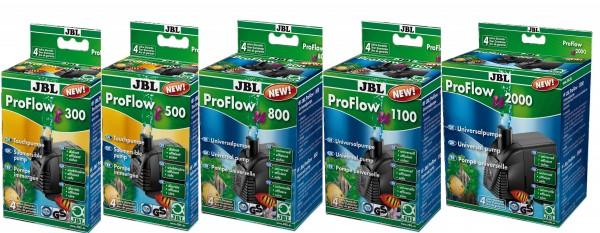 JBL ProFlow t und u 300 bis 2000