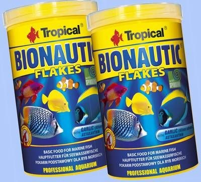 TROPICAL BIONAUTIC FLAKES 2 X 1000ml SEEWASSERFISCHE