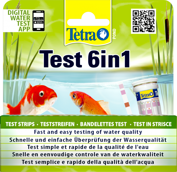 TetraPond QuickTest 6 in1
