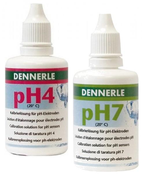 Dennerle Ph4 und Ph7 Eichlösung je 50 ml