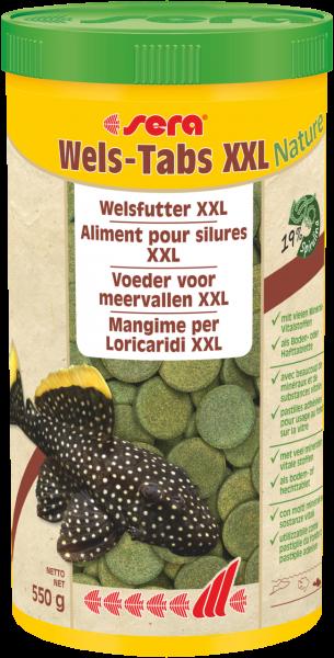Sera Wels-Tabs XXL Nature 1000ml