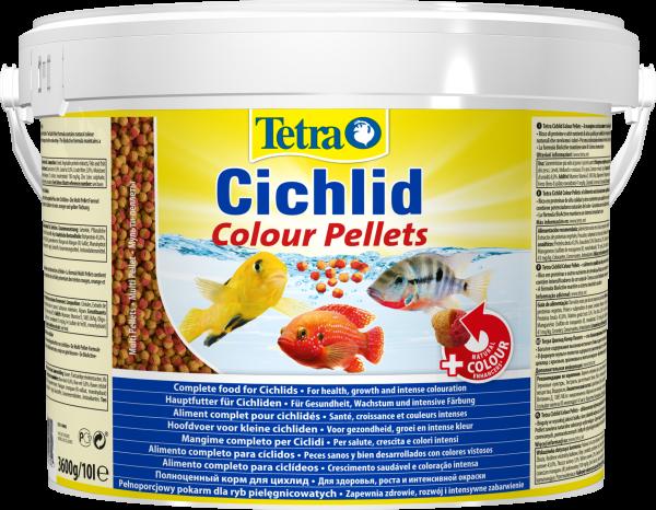 Tetra Cichlid Colourpellet 10l
