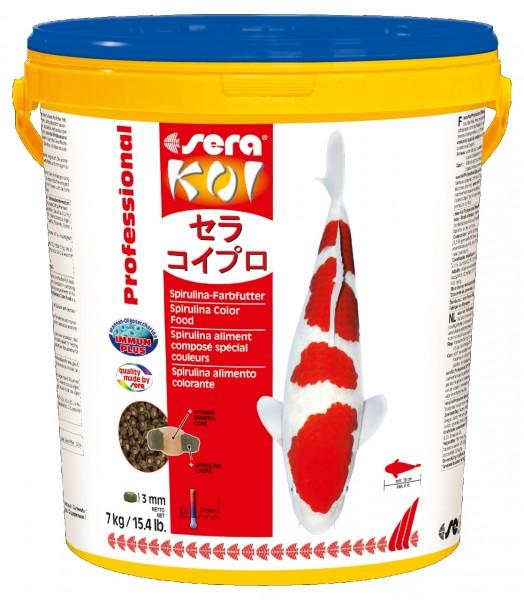 sera KOI Professional Spirulina-Farbfutter 21l
