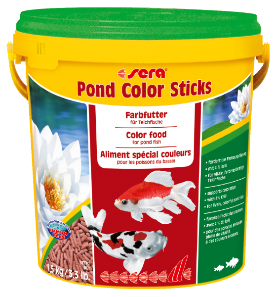 sera pond color sticks 10 l