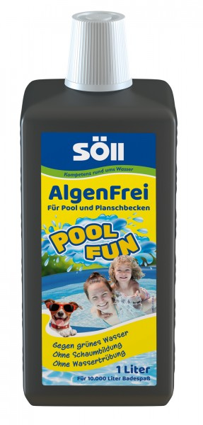 Söll PoolFun-AlgenFrei 1l ; 2,5 l oder 5l