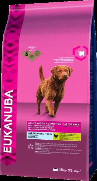 Eukanuba Gewichtskontrolle große Hunde 15kg