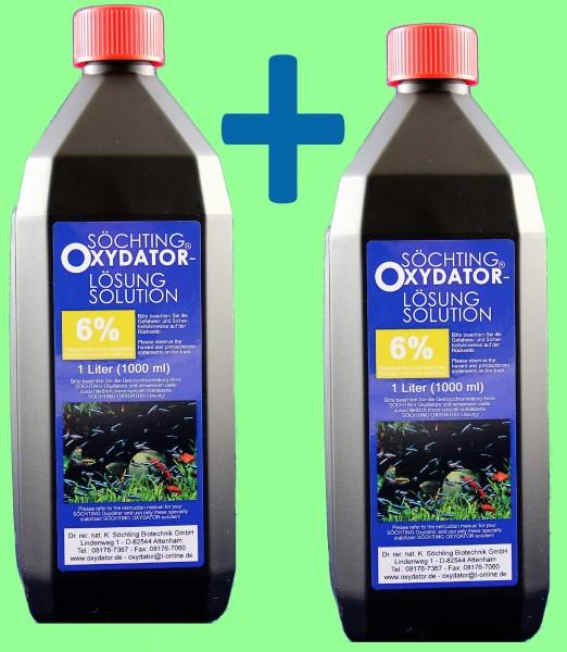 Söchting-Nachfülllösung 2 X 1000 ml - 6 %