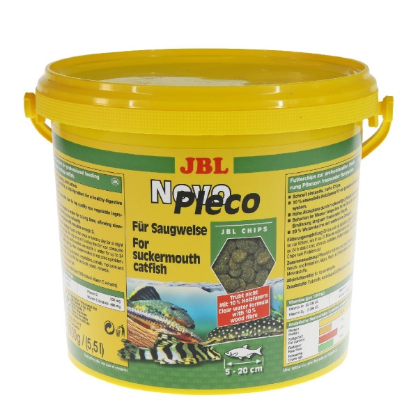 JBL Novo Pleco Chips 5500 ml