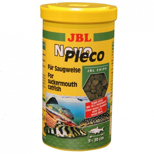 JBL Novo Pleco Chips 1000 ml Dose