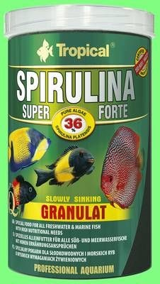Tropical Spirulina 36% GRANULAT 600g / 1 L MHD 09/2023