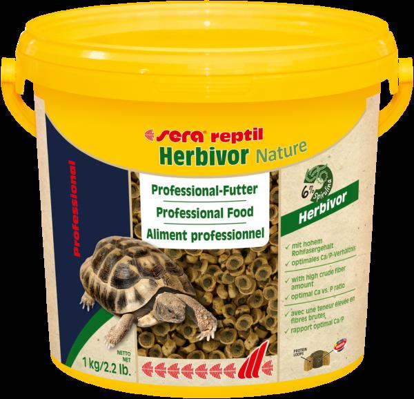 sera reptil Professional Herbivor Nature 3,8 l