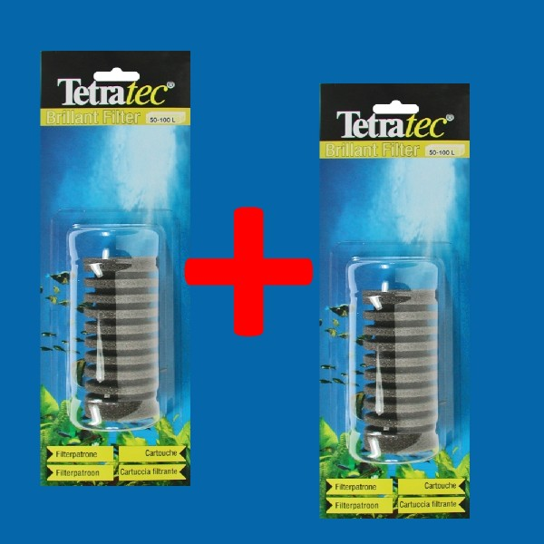 Tetratec Brillant Filter Ersatzpatrone Doppelpack