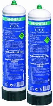 Dennerle CO2 Einweg-Vorratsflaschen 2 X 500 g