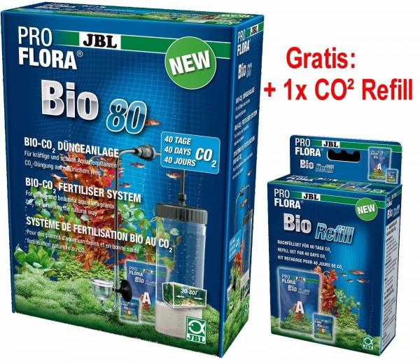 JBL ProFlora bio 80 II BioCo2 Mehrweg Pflanzendüngung+ CO2 Refill6
