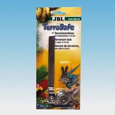 JBL TerraSafe - Schloß für Terrarienscheiben