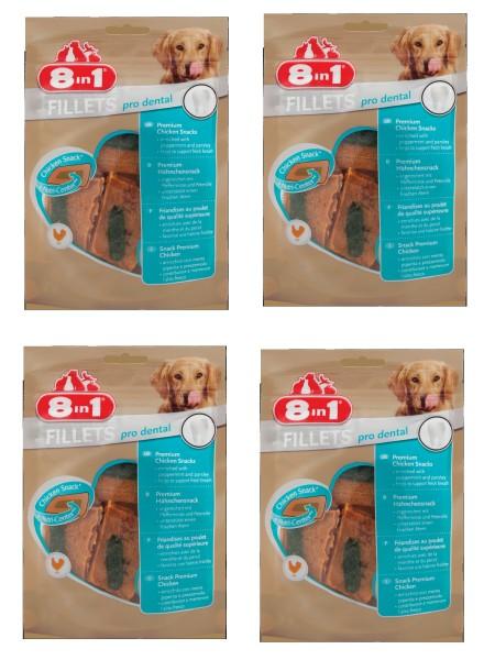 8in1 Fillets Pro dental S 4 mal 80 g =320g
