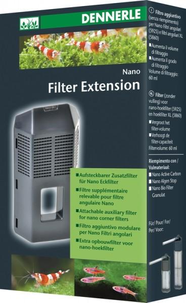 Dennerle Nano aufsteckbarer Zusatzfilter für Eckfilter
