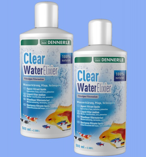 Dennerle Clear Water Elixer 2X 500ml Doppelpack