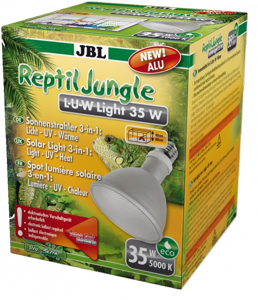 JBL ReptilJungle L-U-W Light 35 Watt-Alu