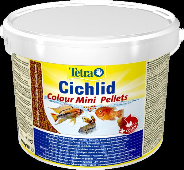 Tetra Cichlid Colour Minipellets 10 l