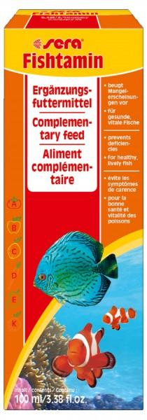 Sera Fischtamin 100 ml MHD 10/2020 Sonderpreis