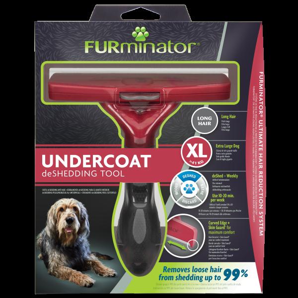 FURMINATOR XL Pflegewerkzeug für Langhaarige große Hunde