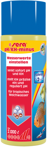 Sera pH/KH-minus 500ml