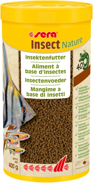 sera Insect Nature Fischfutter 1000ml