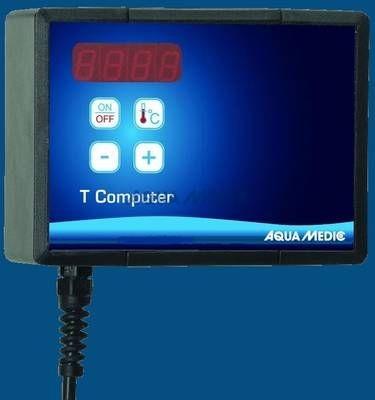 AquaMedicT-Computer-Set Mikroprozessorgesteuertes Temperatur Mess- und Regelgerät