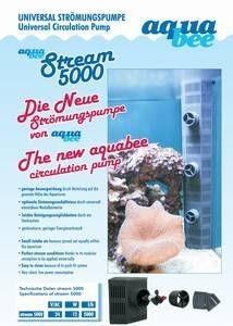 AquaBee Strömungspumpe 5000 Stream