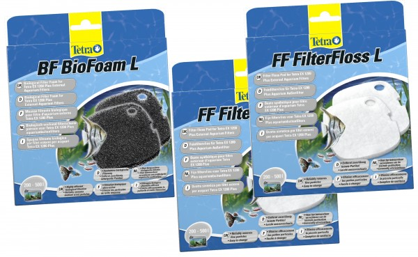 Tetratec EX 1200- FF+BF 1200 Filtermaterial