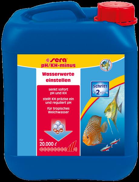 sera pH/KH-minus 5000 ml