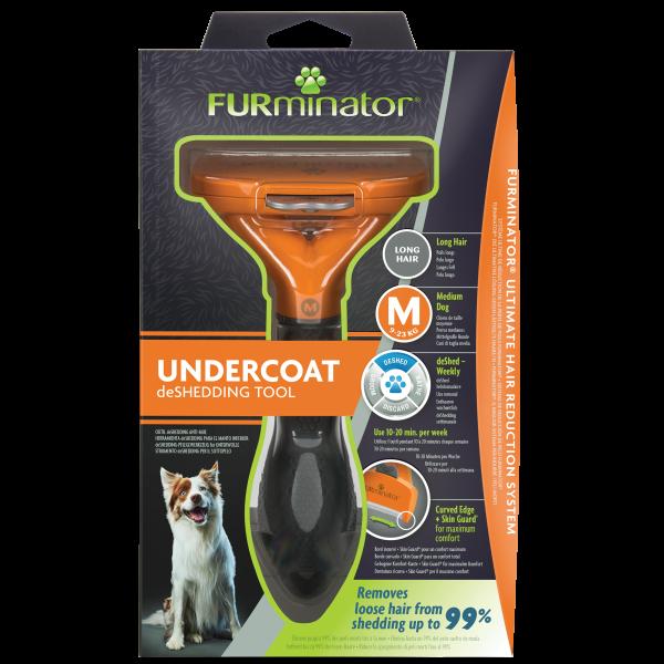 FURMINATOR M Pflegewerkzeug für langhaarige Hunde 9-23kg