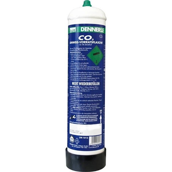 Dennerle CO2 Einweg-Vorratsflasche 500 g