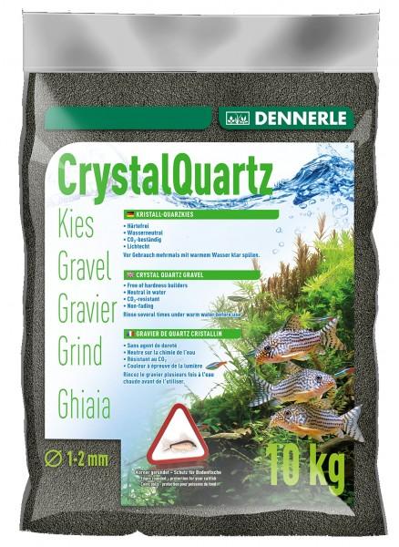 DENNERLE Kristall-Quarzkies**Schwarz**