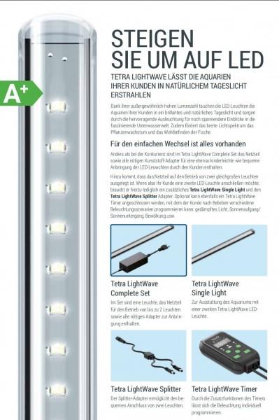 Tetra Light Wave Single Light 270 bis 1140 mm