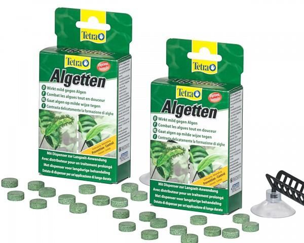 TetraAqua Algetten Doppelpack 24 Tabletten