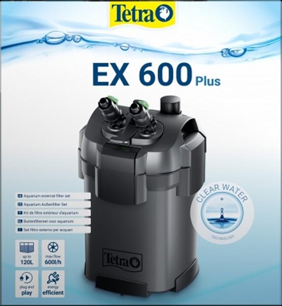 Tetra Außenfilter EX 600 plus Komplettset