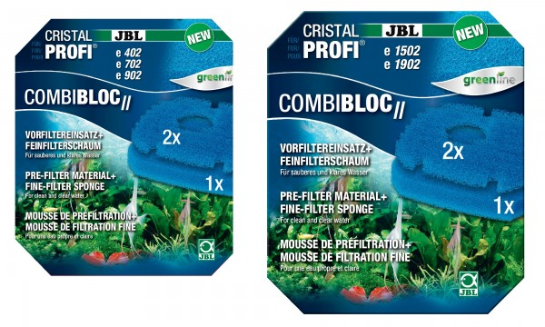 JBL CombiBloc II CristalProfi alle Grössen