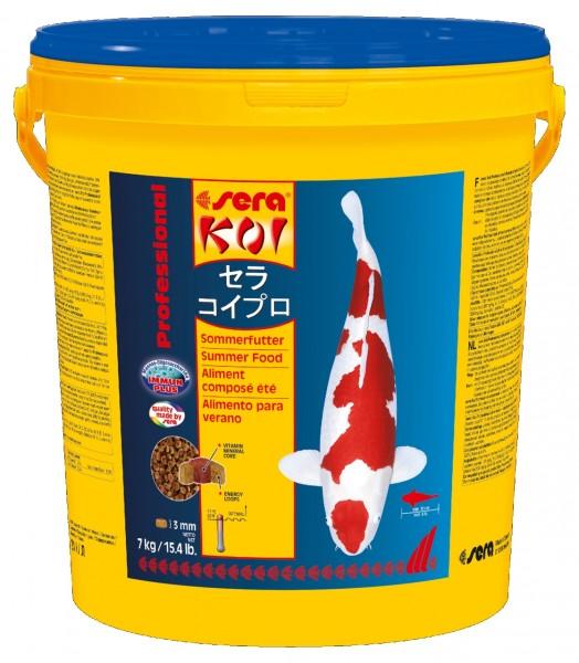 sera KOI Professional Sommerfutter 21l