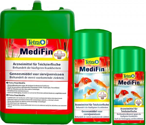 TetraPond MediFin 250 ml bis 3 Liter