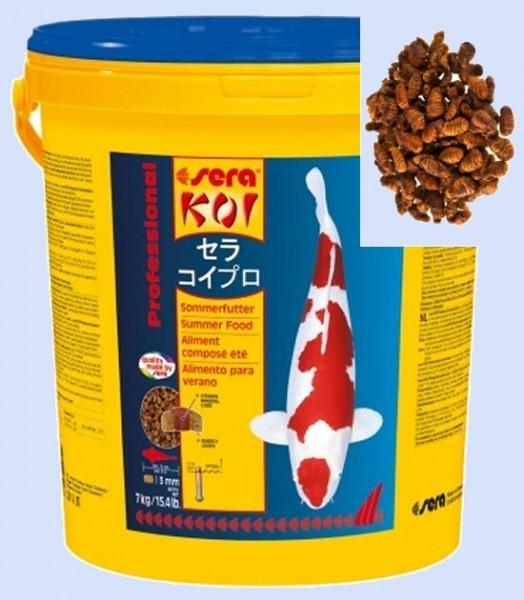 sera KOI Professional Sommerfutter 21l + 1l Seidenraupen