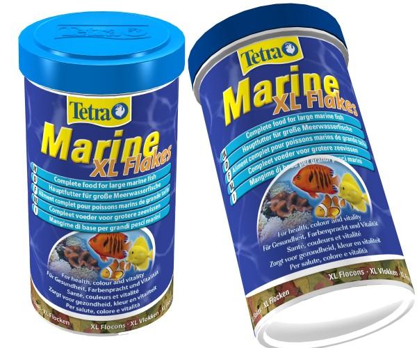 Tetra Marine XL Flakes 2 X 500 ml Doppelpack